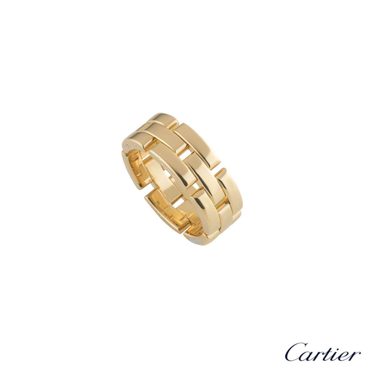 Cartier Yellow Gold Maillon Panthere Ring